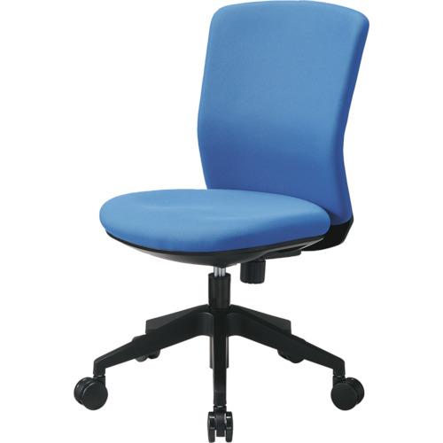 トラスコ中山 アイリスチトセ 回転椅子 HG1000 本体 ブルー HG1000M0FBL