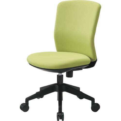 トラスコ中山 アイリスチトセ 回転椅子 HG1000 本体 ライムグリーン HG1000M0FLGN