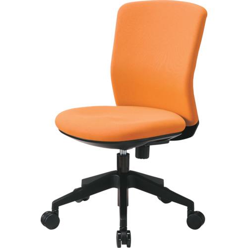 トラスコ中山 アイリスチトセ 回転椅子 HG1000 本体 オレンジ HG1000M0FOG