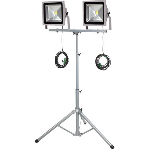 【ご予約品】 日動 LED作業灯 50W 二灯式三脚 プラス LPRS50LW3ME:家電のタンタンショップ トラスコ中山-DIY・工具