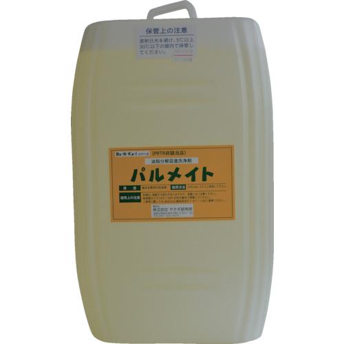 トラスコ中山 ヤナギ研究所 油脂分解促進剤 パルメイト 18Lポリ缶 MST100E