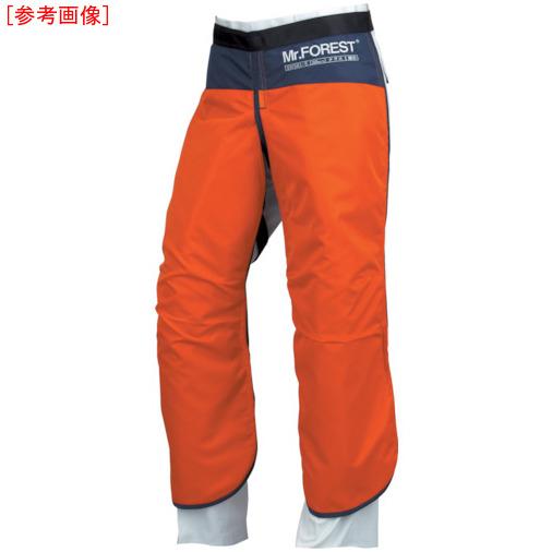 トラスコ中山 マックス Mr.FOREST 防護チャップス オレンジ LLサイズ MT536ORLL