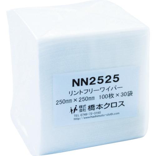 トラスコ中山 橋本 ライトクリーン NN2525 250×250mm (100枚×30袋入) NN2525