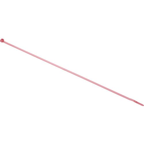 トラスコ中山 パンドウイット リリースタイ 取り外し可能ナイロン結束バンド 赤 1000本入 PRT4SM2