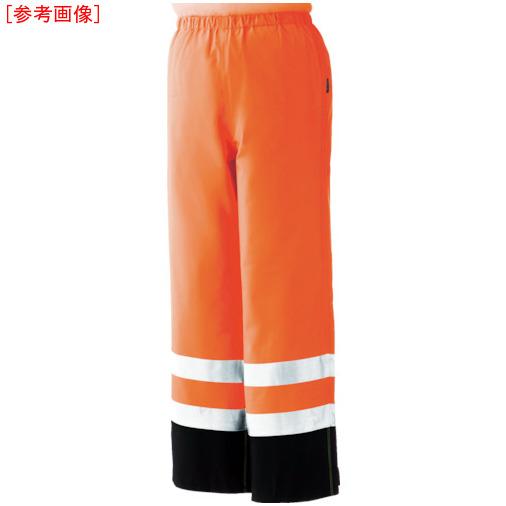 トラスコ中山 ミドリ安全 雨衣 レインベルデN 高視認仕様 下衣 蛍光オレンジ LL RAINVERDENSITAORLL