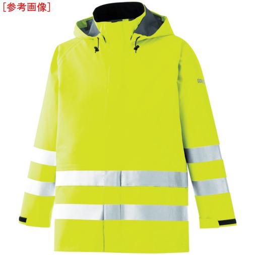 トラスコ中山 ミドリ安全 雨衣 レインベルデN 高視認仕様 上衣 蛍光イエロー 3L RAINVERDENUEY3L