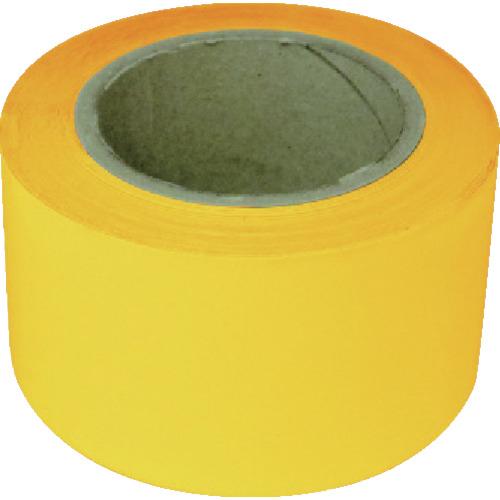 トラスコ中山 新富士 業務用超強力ラインテープ 黄(幅70MM×長さ20M) RM707