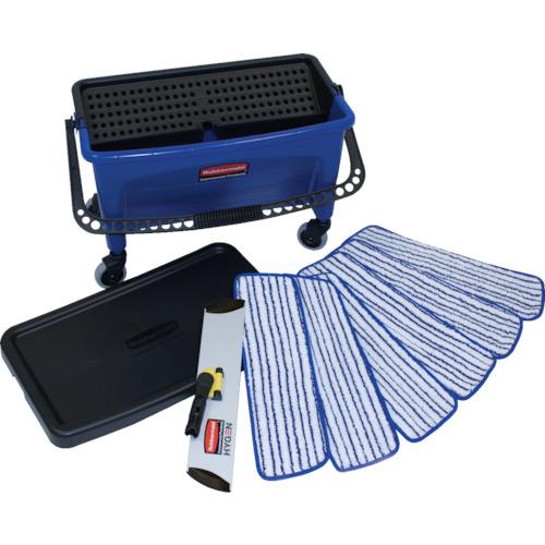 トラスコ中山 ラバーメイド マイクロファイバー 仕上げ用モップセット RMQ050