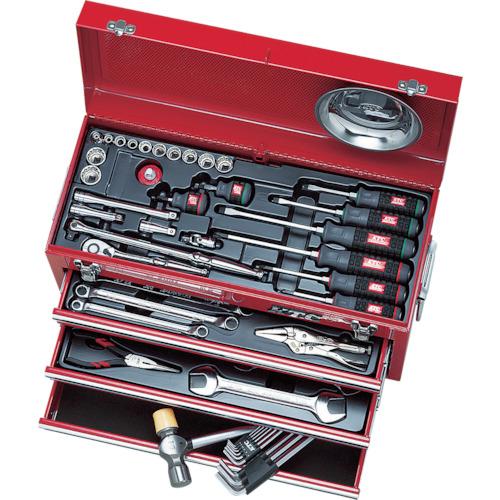 トラスコ中山 KTC 工具セット(チェストタイプ)インチ SK3540BX
