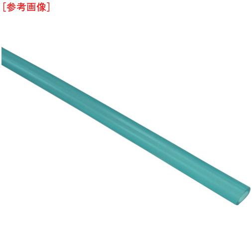 トラスコ中山 チヨダ ソフトポリウレタンチューブ 6mm/100m 青透明 SP6CB100M