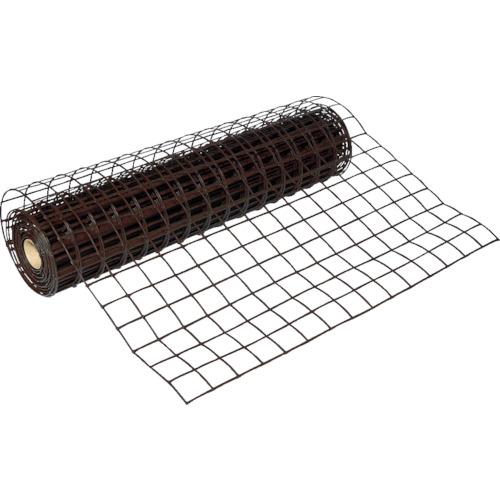 トラスコ中山 TRUSCO 多目的樹脂ネット ブラウン1mX10m 目合67mmX64mm TH10PB