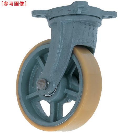 トラスコ中山 ヨドノ 鋳物重荷重用ウレタン車輪自在車付き UHBーg130X65 UHBG130X65