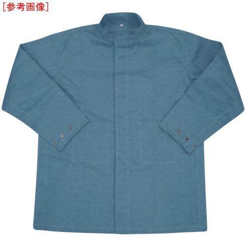 トラスコ中山 吉野 ハイブリッド(耐熱・耐切創)作業服 上着 ネイビーブルー YSPW1BL