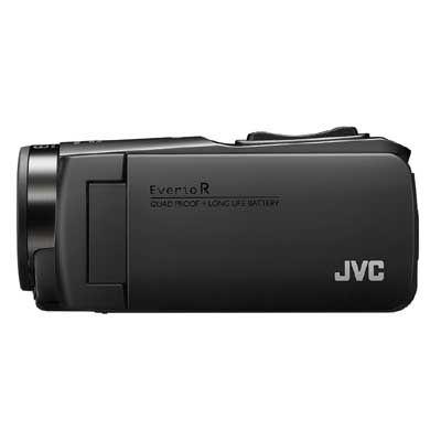 【あす楽対応_関東】JVC ハイビジョンメモリームービー(マットブラック) GZ-RX680-B