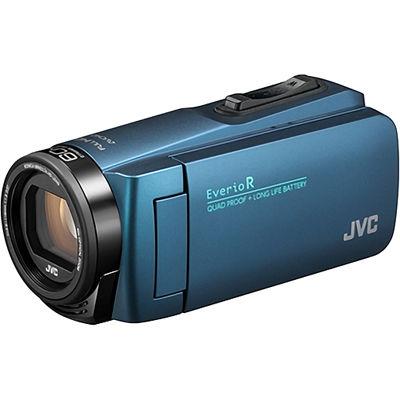 JVC ハイビジョンメモリームービー(ネイビーブルー) GZ-R480-A【納期目安:01/22入荷予定】