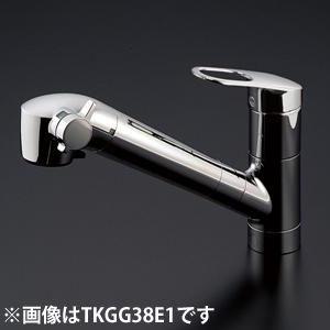 TOTO 台付シングル混合水栓 TKGG38EHV1
