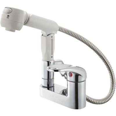 SANEI シングルスプレー混合栓 K37100K 13 K37100K-13