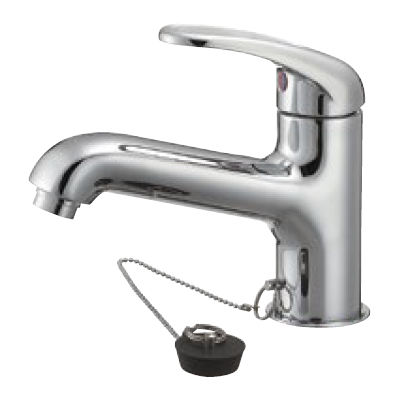 SANEI シングルワンホール洗面混合栓 K4710K 13-23 K4710K-13-23