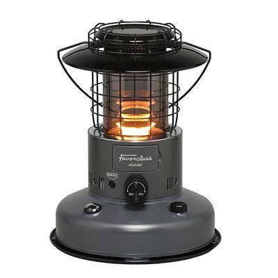 トヨトミ 【限定品】スモークガラスの燃焼筒に暖かい炎が浮かび上がります。足元まで照らす暖かくて明るいランタン調ストーブ。【コンクリート9畳/木造7畳】 RL-F2500-H【納期目安:09/02入荷予定】