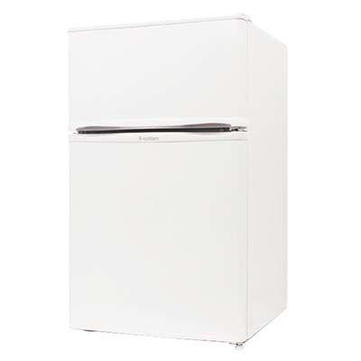 【あす楽対応_関東】エスキュービズム 2ドア 冷凍冷蔵庫 90L (ホワイト) R-90WH