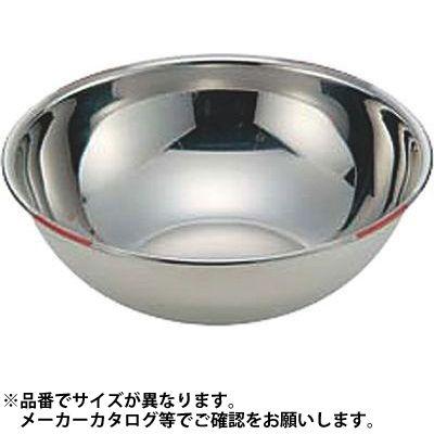 その他 18-8色分ボール 赤 42cm(15.5L) 05-0066-0159