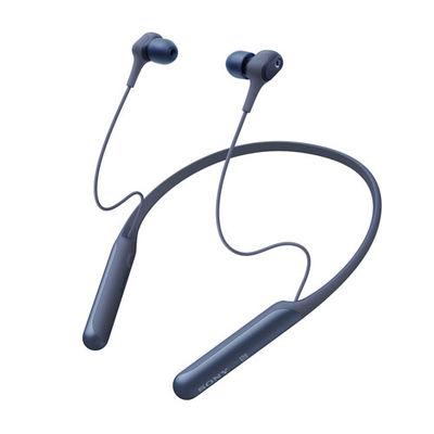 ソニー ワイヤレスノイズキャンセリングステレオヘッドセット ブルー WI-C600N-L