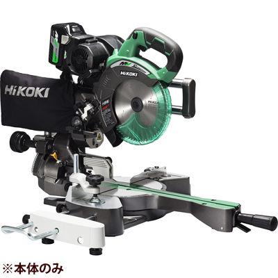 HiKOKI(日立工機) 【36V】【MULTI VOLT(マルチボルトシリーズ)】コードレス卓上スライド丸のこ(※本体のみ)(マルチボルト蓄電池・急速充電器は別売です)(※チップソーは付属) C3607DRA(NN)