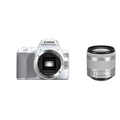 キヤノン デジタル一眼レフカメラ EOS Kiss X10ホワイト+EF-S18-55 IS STM セット お一人様1台限り KISSX10WH-1855ISSTMLK【納期目安:1週間】