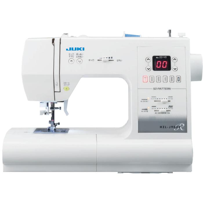 送料無料 ジューキ 日本未発売 5年間無料保証 ボビンミシン針 完売 カラー糸12色セット付き IM5 コンピューターミシン HZL-J900R JUKI