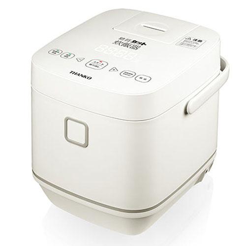サンコー 新・糖質カット炊飯器(低糖質炊飯~2合、通常炊飯~4合) SLCABRCK