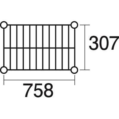 その他 ステンレスエレクター 棚 SSS760 KND-137109
