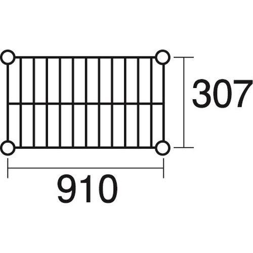 その他 ステンレスエレクター 棚 SSS910 KND-137032