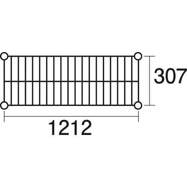 その他 ステンレスエレクター 棚 SSS1220 KND-137033