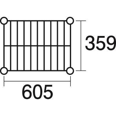 その他 ステンレスエレクター 棚 SAS 610 KND-137111