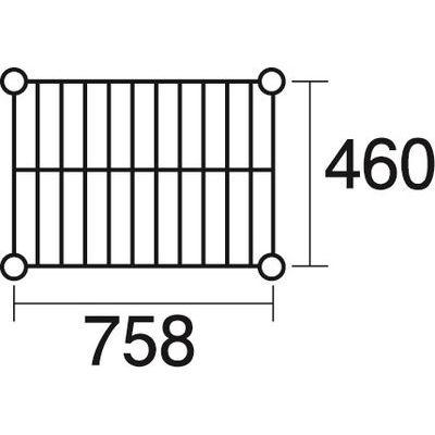 その他 ステンレスエレクター 棚 SMS760 KND-137039