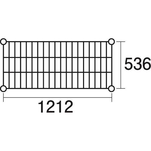 その他 ステンレスエレクター 棚 SBS1220 KND-137046