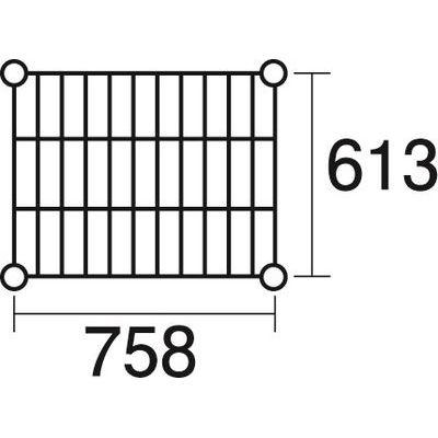 その他 ステンレスエレクター 棚 SLS760 KND-137049