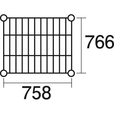 その他 ステンレスエレクター 棚 SLMS760 KND-137116