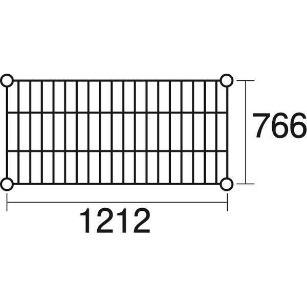 その他 ステンレスエレクター 棚 SLMS1220 KND-137118