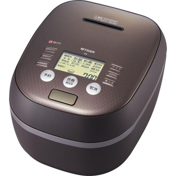 タイガー 土鍋圧力IH炊飯ジャー(マットブラウン) JPH-A102-TM