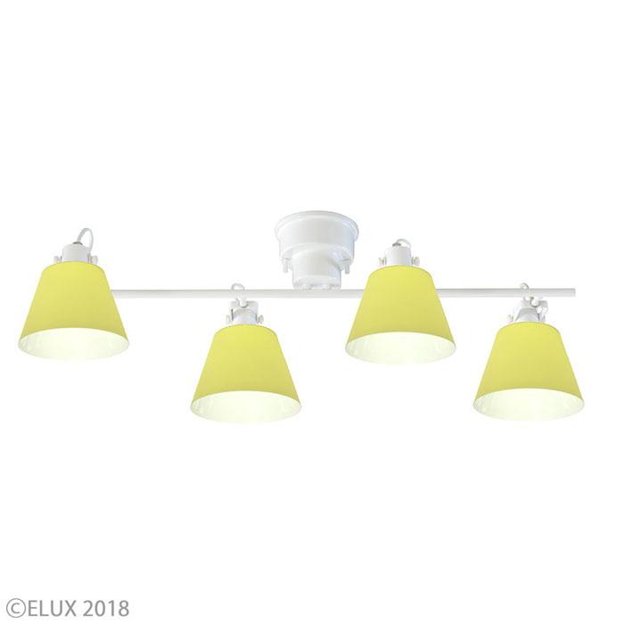 エルックス 【4灯シーリングスポットライト】フラッグス LC10930-YE