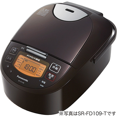 パナソニック IHジャー炊飯器 ダイヤモンド銅釜 1升炊き ブラウン SR-FD189-T