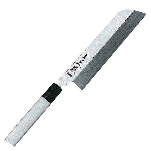 正本総本店 本焼・玉白鋼誂鎌形薄刃庖刀240mm HS0724