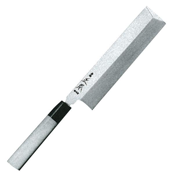 正本総本店 本焼・玉白鋼誂角形薄刃庖刀225mm HS0822