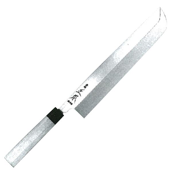 正本総本店 本焼・玉白鋼誂鱧切庖刀270mm HS1027