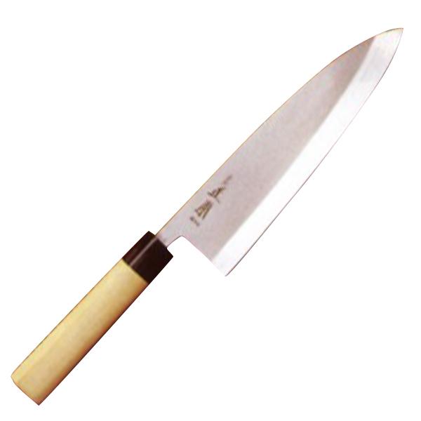正本総本店 本焼・玉白鋼誂出刃庖刀210mm HS2021【納期目安:2週間】