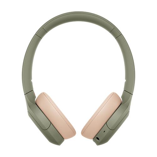 ソニー ハイレゾワイヤレス、Bluetooth対応ヘッドホン アッシュグリーン WH-H810-G
