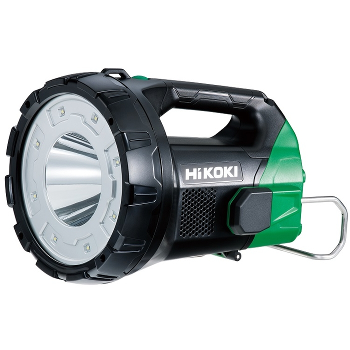 HiKOKI(日立工機) 14.4V/18V コードレスサーチライト(※リチウムイオン電池・急速充電器は別売です) UB18DA(NN)