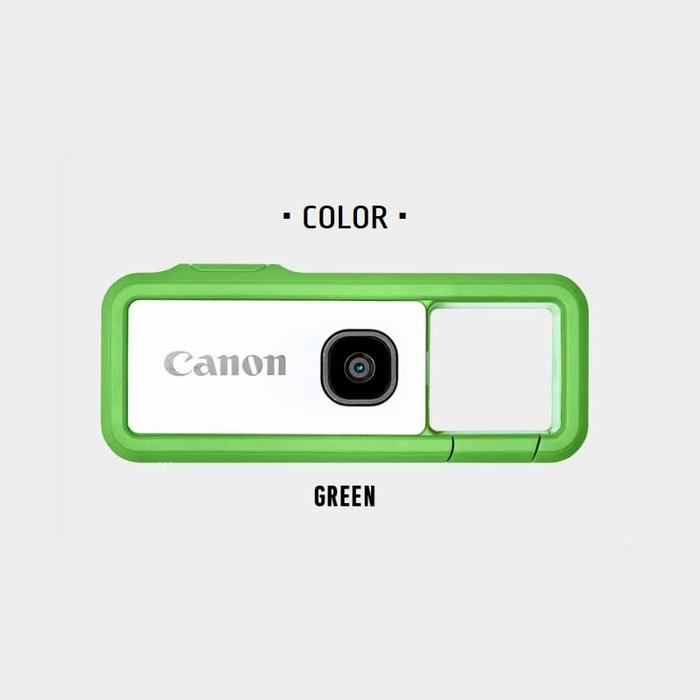 キヤノン デジタルカメラ iNSPiC REC グリーン FV-100-GE【納期目安:1週間】