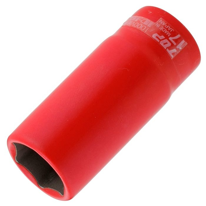 トップ工業 絶縁ディープソケット(差込角12.7) DS-417ZR 4975180340641